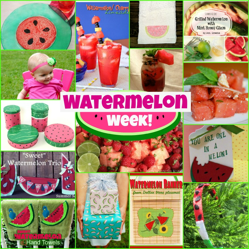 Watermelon Week: Days 4 & 5 - Happiness is Homemade