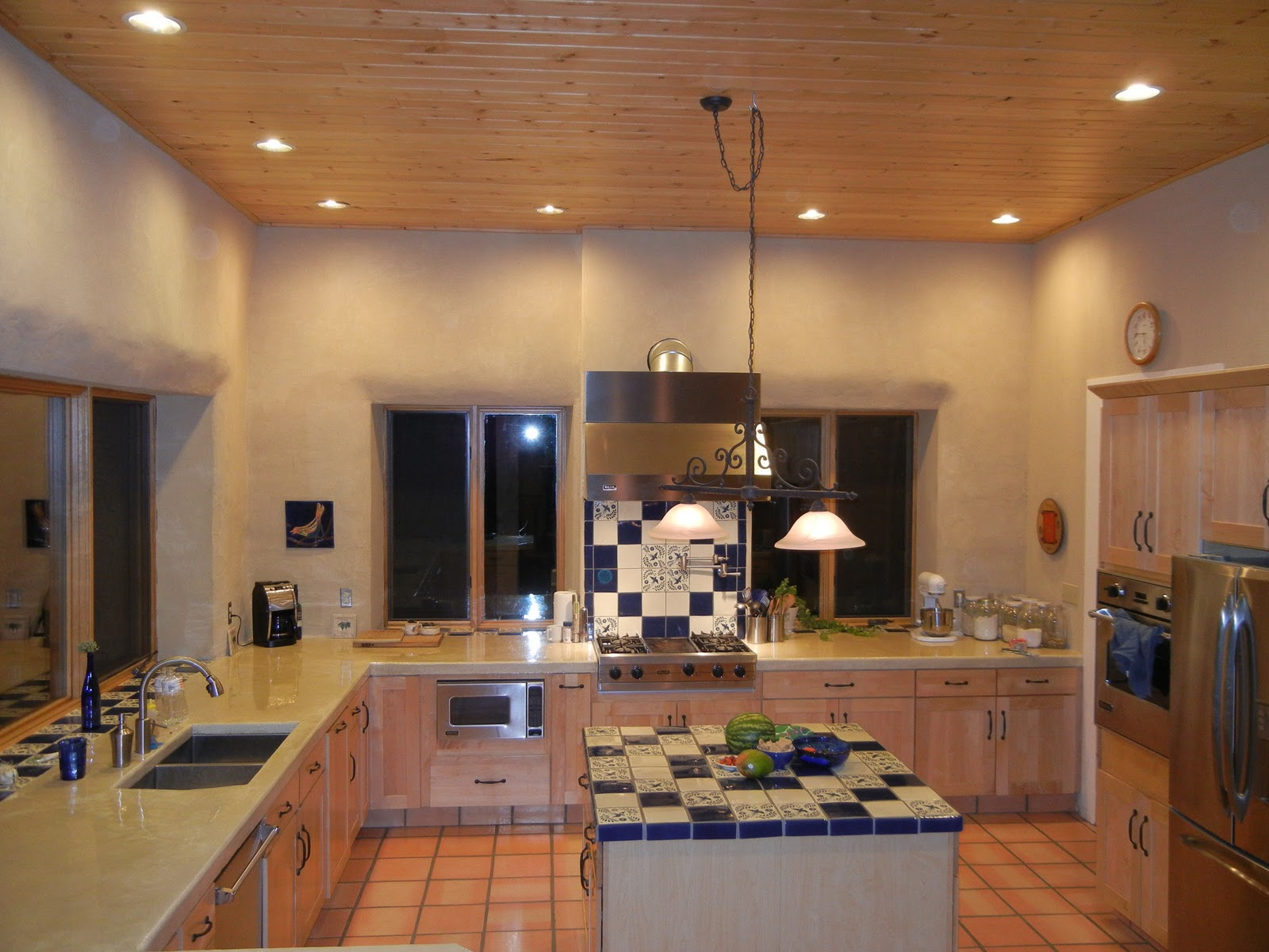Kitchens with Recessed Lighting
