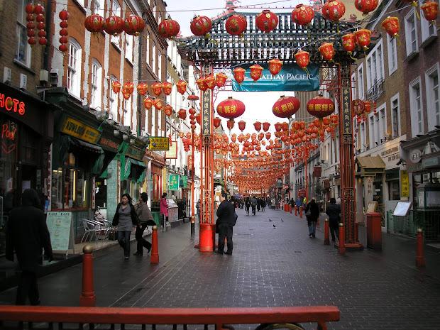 Famous Place Chinatown London