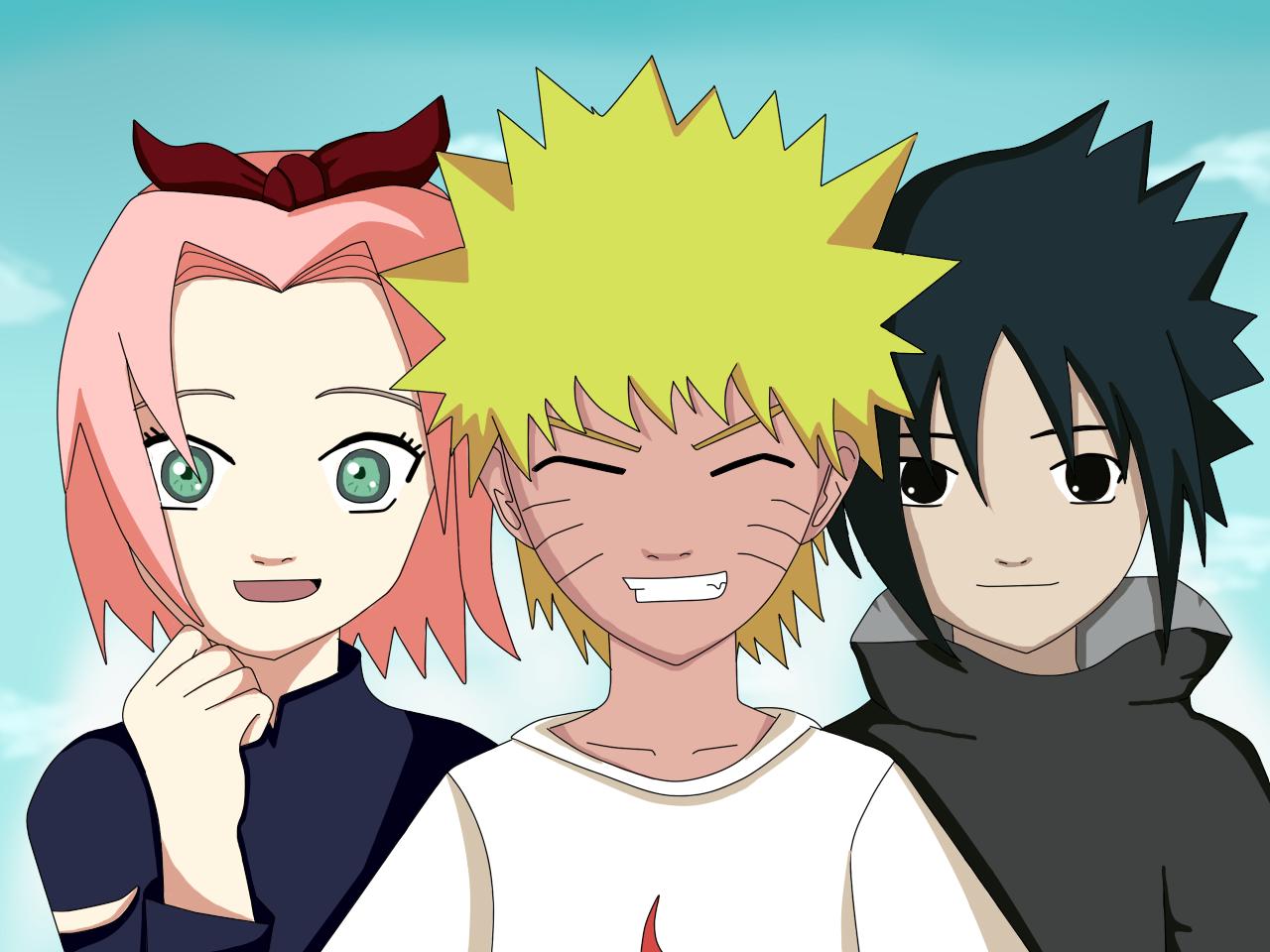 For Naruto sasuke and sakura