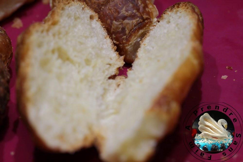 Croissants aux amandes (pas à pas en photos)
