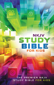 NKJV Study Bible for Kids cover