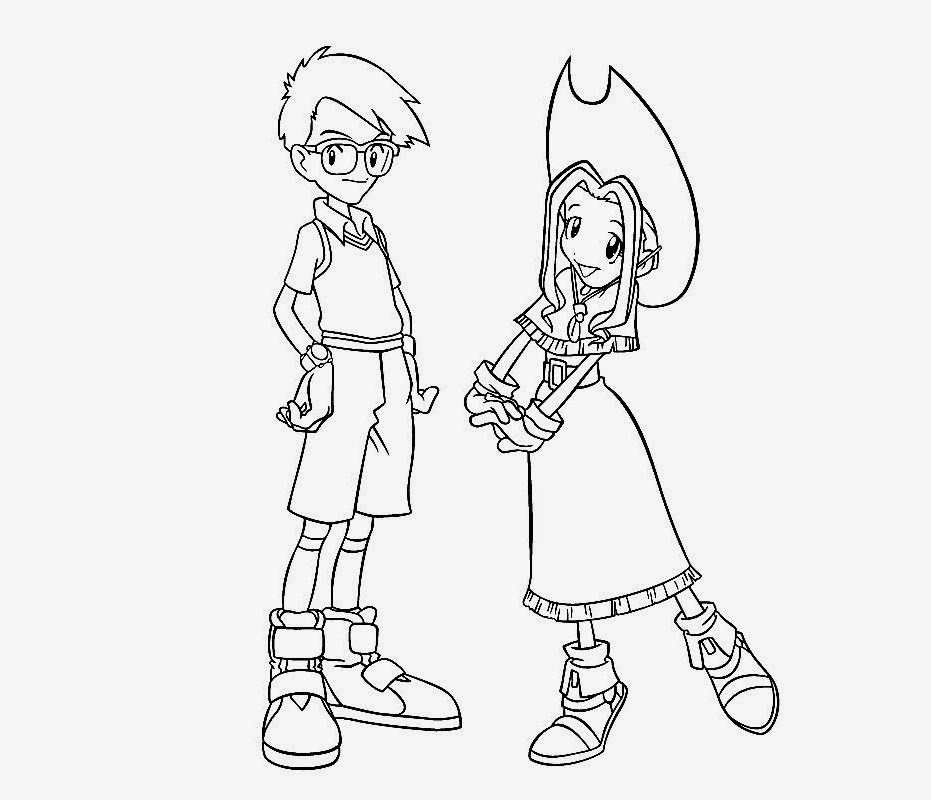 digimon data squad coloring pages - photo#13