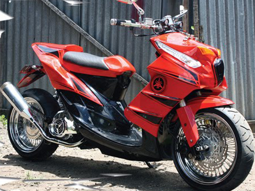Honda Wave 125 Price >> 13+ Modifications Yamaha Mio Soul GT - The Motorcycle