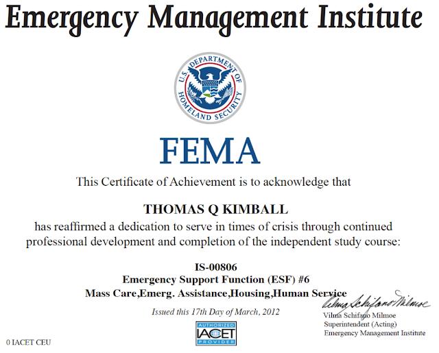 Thomas Quick Kimball WA8UNS Blog : American Red Cross