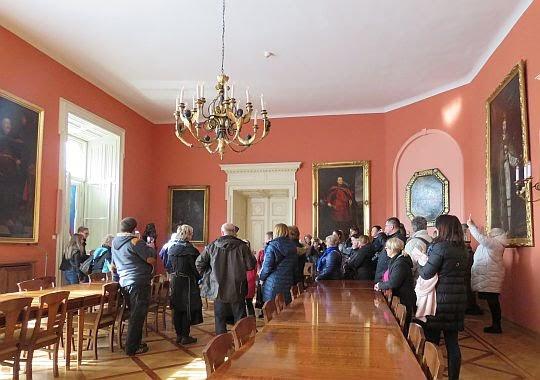 W auli Pałacu Arcybiskupów Krakowskich.