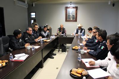 Se reúne en cabildo de Huatabampo, la Coordinación de Seguridad