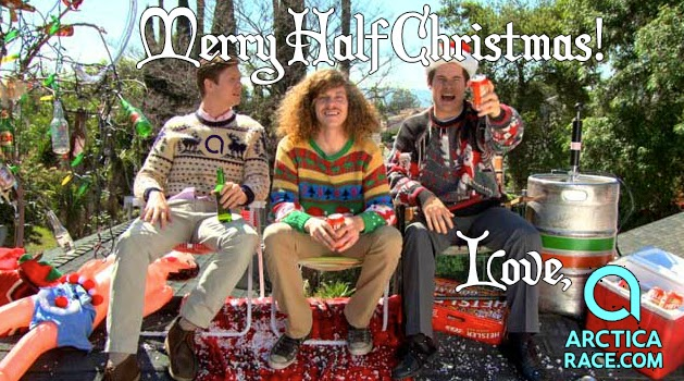 Merry Half Christmas