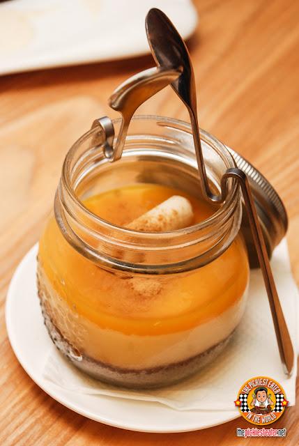 Cebuano Mangga Cheesecake