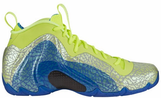 separation shoes 2d96a 7c515 Nike Air Flightposite Exposed Volt Photo Blue-Black Now Available