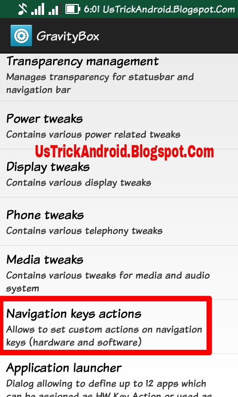 www UsTrickAndroid Blogspot Com: How To Disable Home button