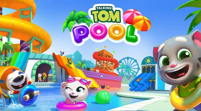 Download - Talking Tom Pool Apk Mod V1.0.1.52