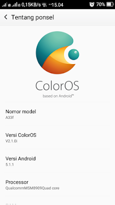 Custom Rom Oppo Color OS Andromax A Terbaru November 1