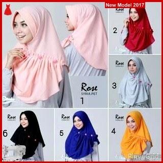 RYB120B Hijab Jilbab Cantik Rose Murah Syria BMG Online Shop