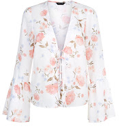 http://www.newlook.com/shop/womens/tops/white-floral-print-lattice-front-bell-sleeve-top_517948219