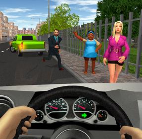تحميل لعبة التاكسى المجنون Taxi Game للموبيل اندرويد وايفون