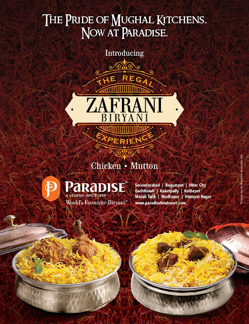 Feast like a Nizam at 'Zafrani Biryani Festival' by Paradise
