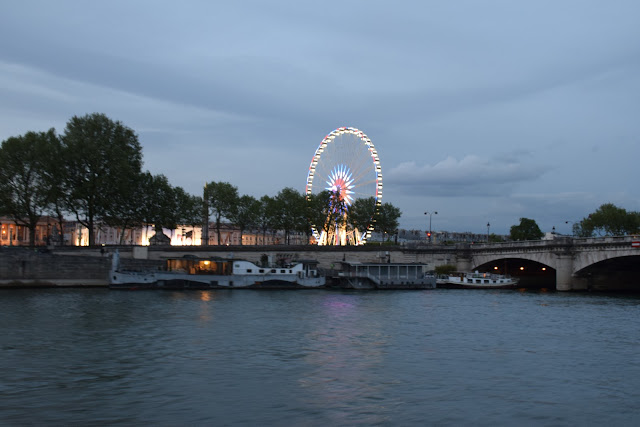The Paris Wheel | Best of Paris in evening, an evening in Paris#Paris #Travel