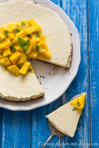Mango Joghurt Cheesecake