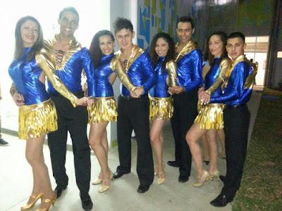 bailarines de swing criollo