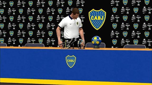 Sponsor Room Boca Juniors PES 2017
