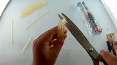 cara membuat perahu mainan dari botol plastik