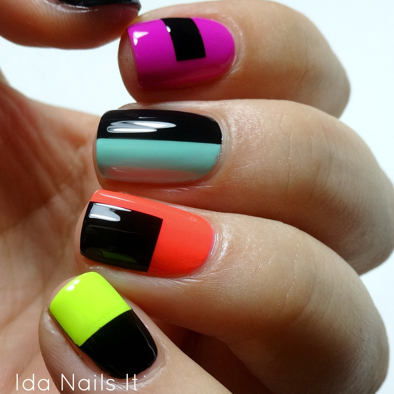 Finger Nail Paint: Ida Nails It: Paint All The Nails Presents: Color Block