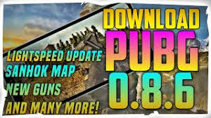 PUBG Mobile v0.8.6 Apk + Data | Sanhok Map and New Gun QBZ