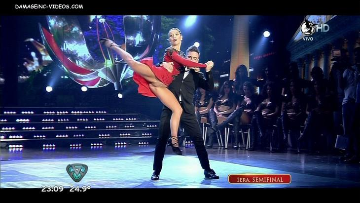 Laura Fernandez hot upskirt dancing Tango damageinc videos HD
