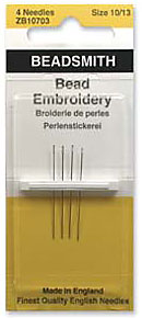 Bead Embroidery Needles