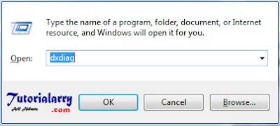 Cara Cek DirectX di Windows