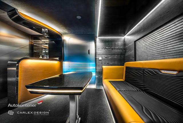 スタイリッシュで贅沢な空間にカスタムされたトレーラーの内装がスゴい!