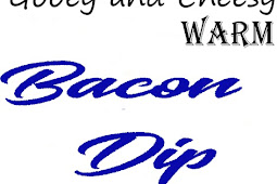 Gooey and Cheesy Warm Bacon Dìp