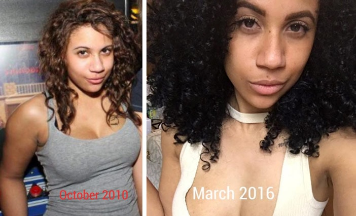 Naturally Curly Hair Journey