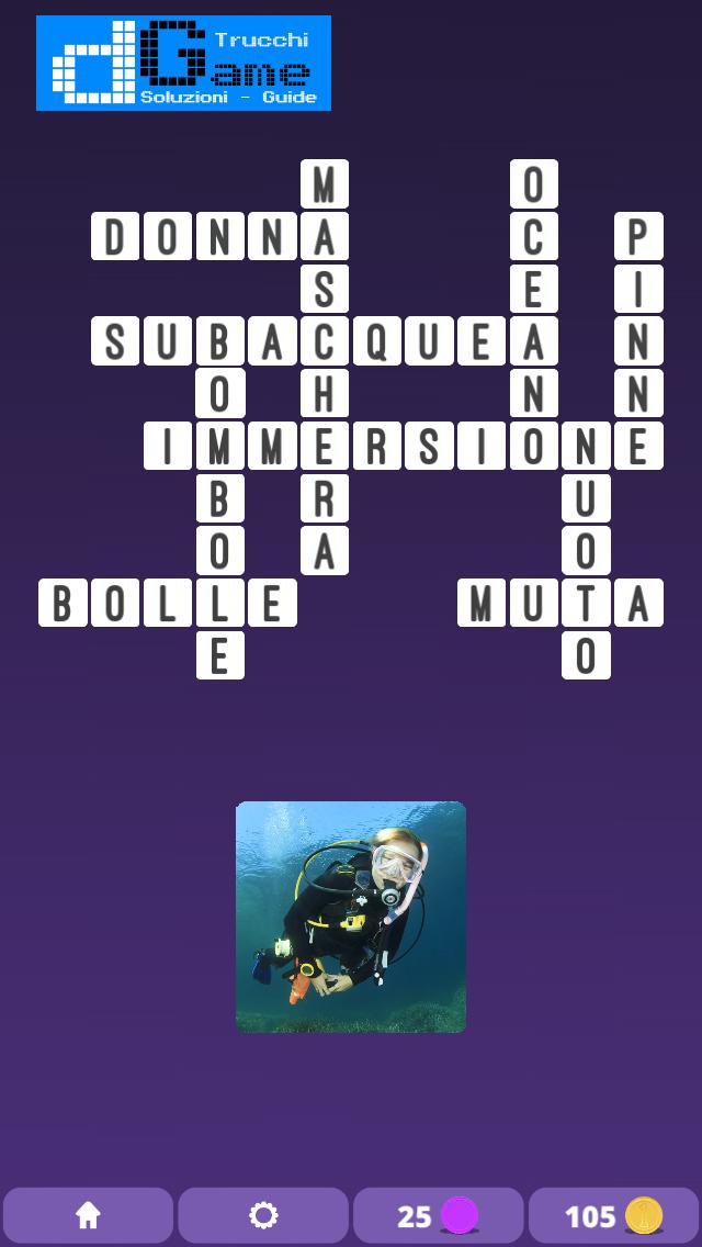 Soluzioni One Clue Crossword livello 5 schemi 15 (Cruciverba illustrato)  | Parole e foto