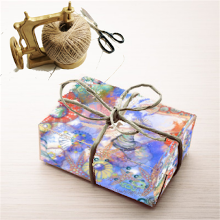Gift wrapping paper designs by Mimi Pinto