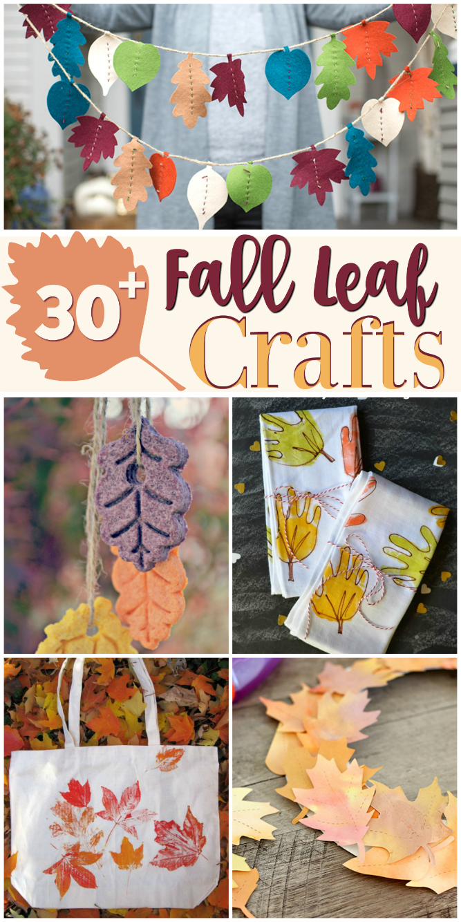 The Life of Jennifer Dawn: 30+ Fall Leaf Crafts