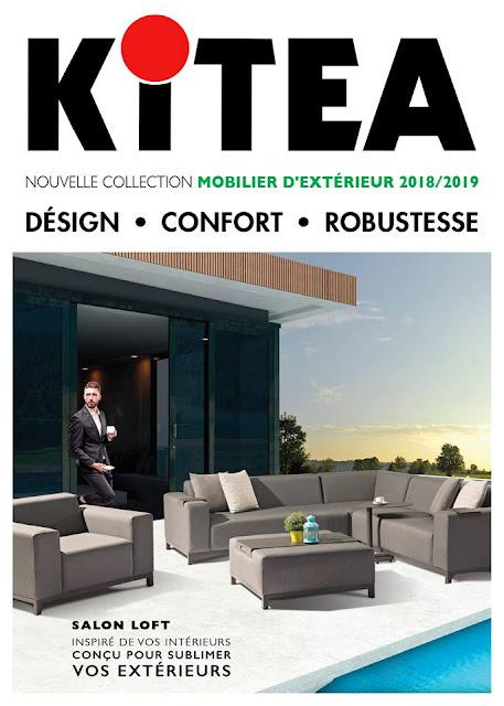 catalogue kitea maroc mobilier d'extérieur 2018-2019