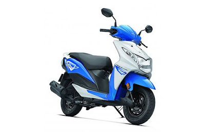 Honda Dio 110cc scooter front view shot