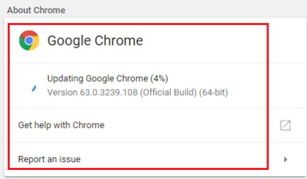 how to update google chrome browser on laptop