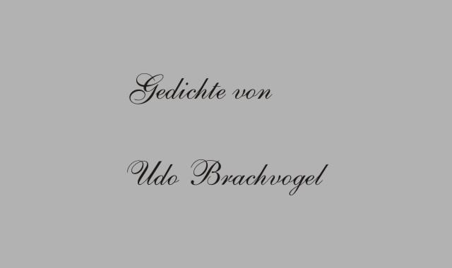 Der deutsche Dichter Udo Brachvogel