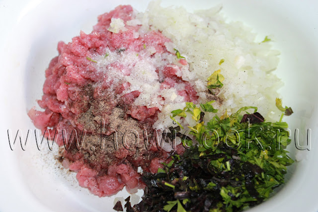 рецепт хинкали с пошаговыми фото