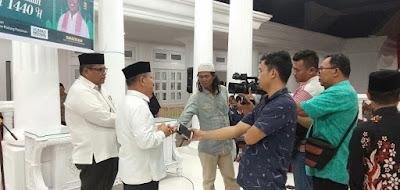 Bupati Ali Mukhni Jamu Tim Safari Ramadhan