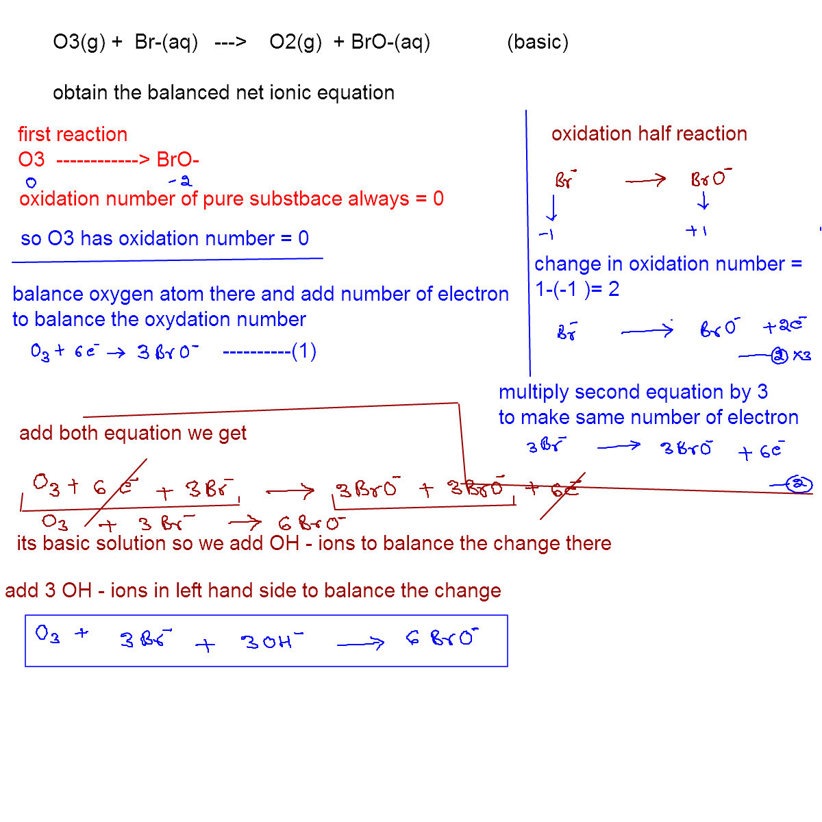 online mathematics and chemistry help balance the ionic equation  monday 11 2011