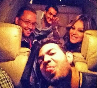 Foto Selfie Jenni Rivera sebelum lepas landas