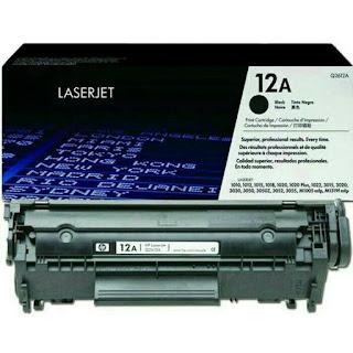 HP Toner 12 A Q2612A, Original - bali printer, printer di bali
