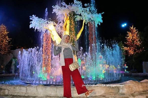 Malang Night Paradise, Wisata Wahana Malam Yang Seru Dan Keren Di Kota Malang
