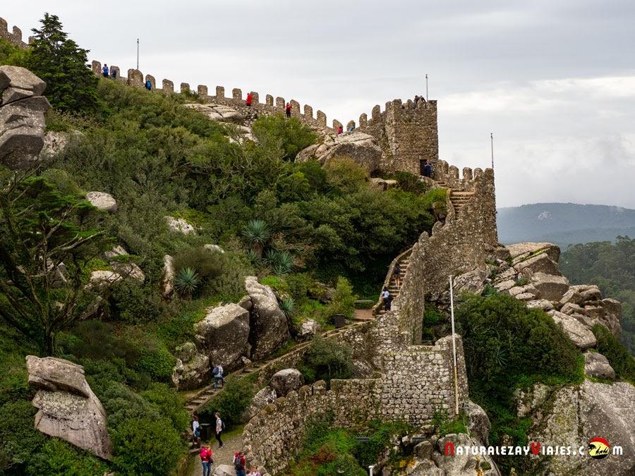 Castillo de los Moros, Sintra, Portugal