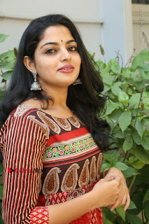 Telugu Actress Nikhila Vimal Latest Stills in Anarkali Dress  0137.JPG