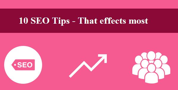 Seo-tips,10 seo tips